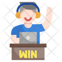 Gamer Online Play Game Play Games Icon