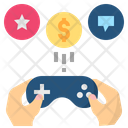 Gamify Gamification Play Icon
