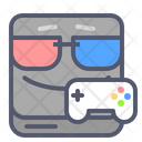 Gaming Play Station Console Icon