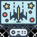 Gaming Gamble Video Icon