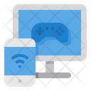 Gaming Control Internet Icon