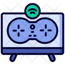 Gaming Area Smart Home Technology Icon