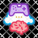 Game Brain Cloud Icon
