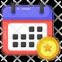 Casino Calendar Gaming Schedule Gaming Calendar Icon