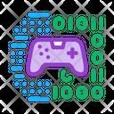 Game Development Binary Icon