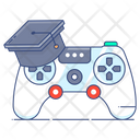 Gaming Education Gaming Learning Gamification Icon