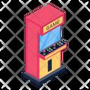 Arcade Game Gaming Machine Arcade Machine Icon