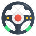 Gaming Steering Wheel Icon