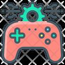 Gaming Technology Joystick Gear Icon