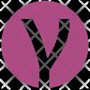 Gamma Alphabet Greek Icon