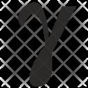 Gamma Letter Greek Icon