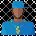 Gangster Man Avatar Icon