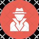 Gangster Boss Criminal Icon