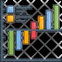 Gantt Chart Progress Chart Icon