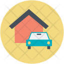 Garage Parking Car Icon