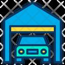Garage Auto Service Car Icon