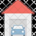 Car Garage Garage Service Car Porch Icon