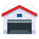 Warehouse Depot Garage Icon