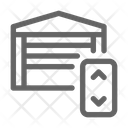 Garage Control House Icon