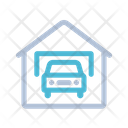 Car Garage Parking Icon