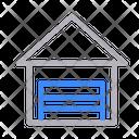 Garage House Home Icon