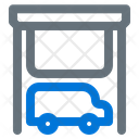 Garage Car Building Icon