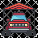 Outdoor Garage Icon