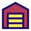 Garage Parking Home Icon