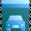 Garage Car Interior Icon