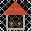 Garage Car Parking Icon