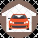 Car Garage Service Icon
