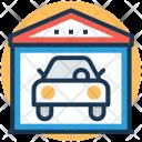 Garage Carport Service Icon