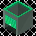 Garage Isometric Icon