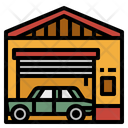 Garage Car Parking Icon