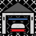 Garage Car Fix Icon