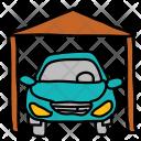 Garage Car Park Icon