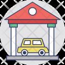 Garage Car Porch Icon
