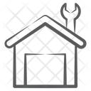 Garage Warehouse Service Station Icon