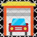 Garage Transport Car Icon