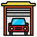 Garage Transport Car Icon