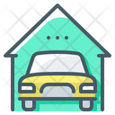 Real Estate Car Garage Icon