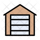 Garage Shelter Building Icon