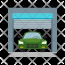 Garage Parking Car Icon