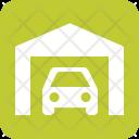 Garage Parking Home Icon