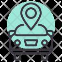 Garage Location Car Icon