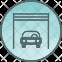 Garage Godown Car Icon