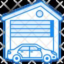 Garage Building Icon