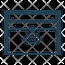 Garage door sensor Icon