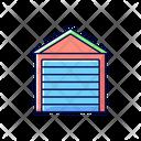 Garage Door Installation Icon