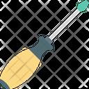 Garage Tools Maintenance Concept Screwdriver Icon